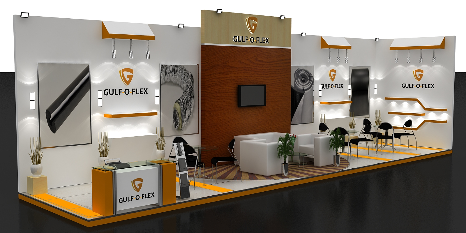 Exhibition Stall Design Octanorm : Nikhiraj exhibits your brand partner